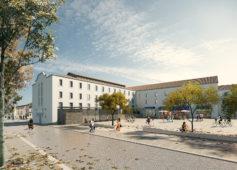Restructuration du couvent des ursulines à Brignoles en école de danse, art et musique
