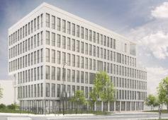 Construction d'un immeuble de bureaux quartier Ginko à Bordeaux lac