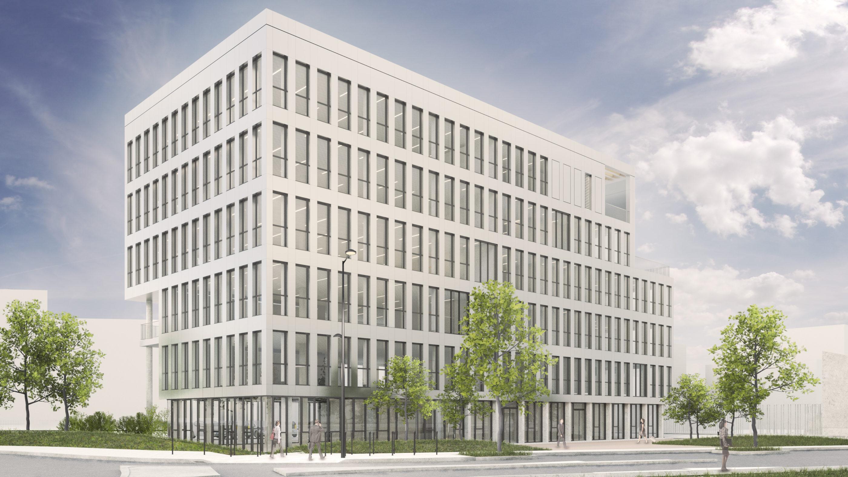 Surface pour construire un immeuble