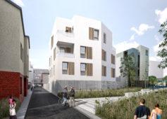 Construction de la zac du Landy à Aubervilliers
